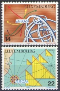 1994 Luxembourg 1340-1341 Europa Cept 4,50 €