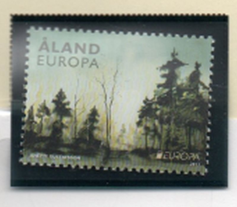 Aland Finland Sc  315 2011  Europa stamp mint NH