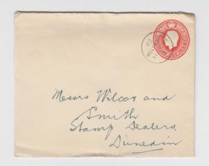NEW ZEALAND 1935 MILLERTON TO DUNEDIN, 1d EVELOPE H&G#B14(SEE BELOW