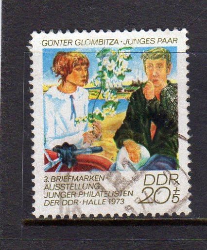 German DDR 1973 Young Philatelics used