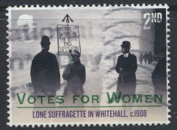 Great Britain SG 4050 Sc# 3696  Used Votes for Women