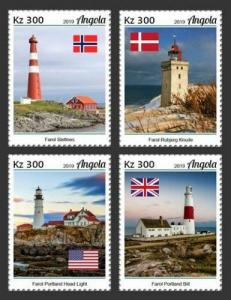 Z08 IMPERF ANG190106a ANGOLA 2019 Lighthouses MNH ** Postfrisch