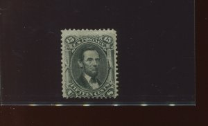 77 Lincoln Unused Stamp with PSE Cert (Stock 77-PSE 1)