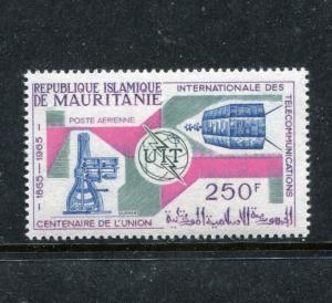 Mauritania C41, MNH, Space exploration, ITU, 1965. x18363