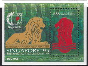SOUTH AFRICA 915 MLH SS BIN $1.00 LION, EXPO