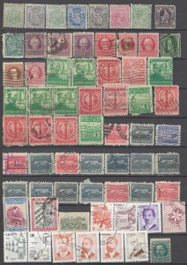 COLLECTION LOT OF # 1628 CUBA 65 STAMPS 1875+ CLEARANCE
