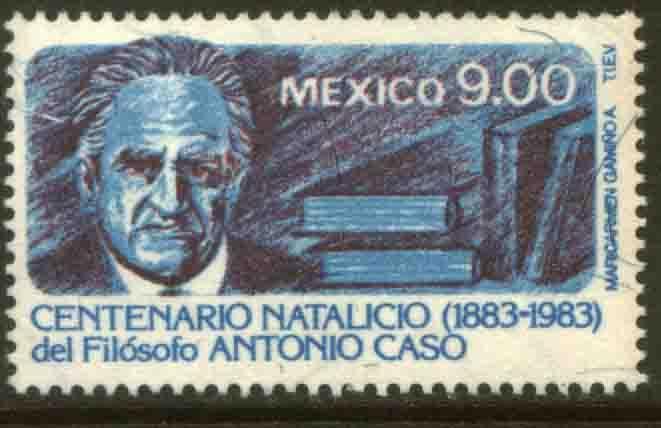 MEXICO 1342, Antonio Caso, Philosopher, Cent of his birth. MINT, NH. F-VF.