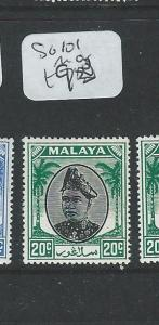 MALAYA SELANGOR (P1208B) SG101   MOG