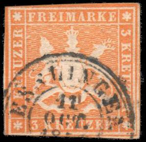 German States-Wurttemberg 15 used