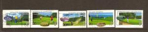 CANADIAN SET ON GOLF USED STAMPS  LOT#82