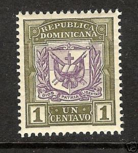 A517 DOMINICAN REP. DOMINICANA 123 MNH ARMS