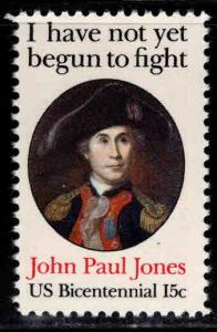 USA Scott 1789a perf 11 John Paul Jones stamp