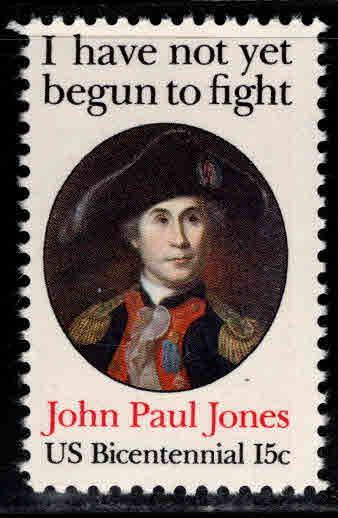 USA Scott 1789a perf 11 John Paul Jones stamp
