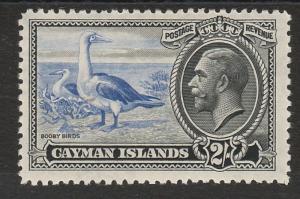 CAYMAN ISLANDS 1935 KGV BOOBY BIRDS 2/-