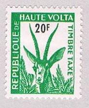 Burkina Faso J25 MNH Antelope 1962 (BP49307)