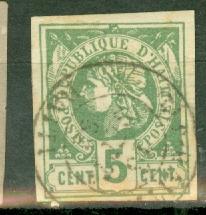 Haiti 4 used CV $16