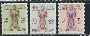Sudan 136-8 1961 UNESCO Nubian Monuments set MNH