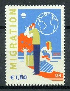 United Nations UN Vienna 2019 MNH Definitive Migration 1v Set Stamps