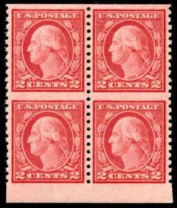 momen: US Stamps #540a MNH OG Block of 4 PSE Cert SUP