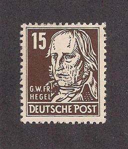 GERMANY - DDR SC# 126 F-VF LH 1953