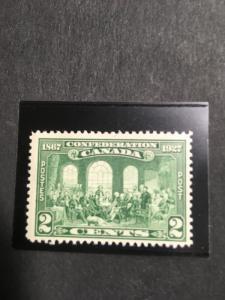 Canada #142 Mint Fresh & F-NH Sc.2016 Cat. $3.75 1927 2c Fathers of Confederat.