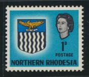 Northern Rhodesia  SG 76 SC# 76 MH - see details
