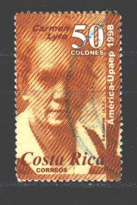 Costa Rica. 1998. 1504. Lura writer. USED.