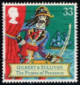 Great Britain #1461 Pirates of Penzance; Used (0.95)