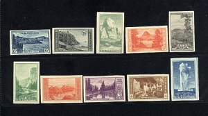 USA 756-765   Complete Set  Mint NH VF 1934 PD