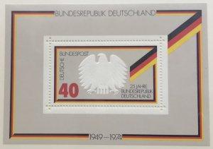 Germany 1145 MNH  Souvenir Sheet SCV $1.15