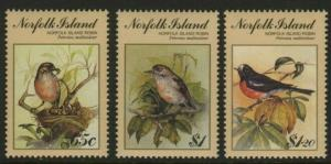 Norfolk Island 497-9 MNH Birds
