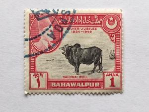 Bahawalpur – 1949 – Single Stamp – SC# 25 – Used