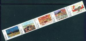Palau US Trust Territory Scott 28-32 MNH** Strip of 5