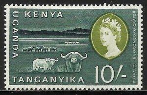 Kenya, Uganda & Tanzania 1960 Scott# 134 MH