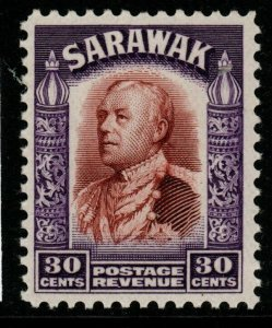 SARAWAK SG118 1934 30c RED-BROWN & VIOLET MNH