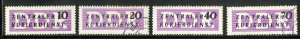 GERMANY DDR O33-O36 USED SCV $4.20 BIN $2.00