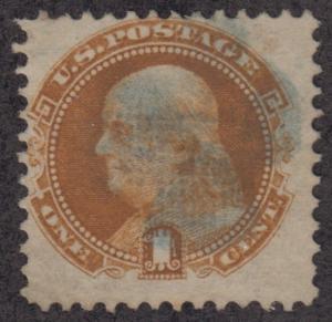 U.S. Scott #112 Franklin Stamp - Cat $150 - Used Single