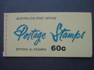 1966 SG SB39 60c BOOKLET WITH 3 PANES OF SG385a EDITION DV9, FREE STD SHIP W/W