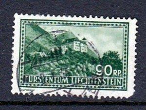 Liechtenstein #127 Castle Issue (USED) cv$32.00