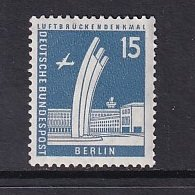 Germany  Berlin   #9N127  MNH  1956  definitive set 15pf  roll number at back