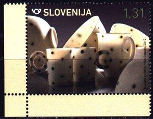 Slovenia. 2019. 1354. Pottery, Porcelain. MNH.