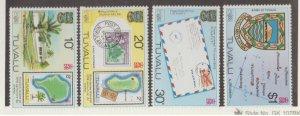 Tuvalu Scott #133-136 Stamps - Mint NH Set