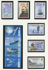 BRITISH ANTARCTIC TERRITORY 2002 SELECTION ON PAGES MINT NH SCOTT $92.00