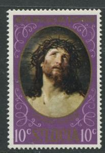 St. Lucia - Scott 245- Easter. -1969 - MNH -Single 10c Stamp