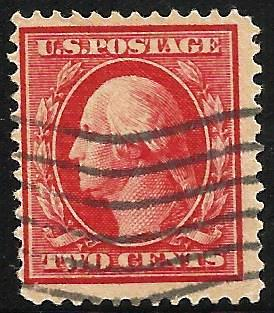 United States 1908-1909 Scott # 332 Used