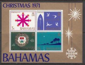 Bahamas, Sc 334a, MNH, 1971, Christmas