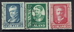 Iceland SC# 283 - 286 - Used - 030517
