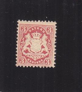 Bavaria: Sc #34, WMK 94, MNH (S18159)