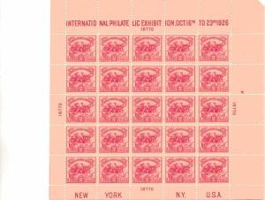 US 630 - 2¢ White Plaines Unused