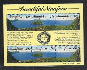Tonga Niuafo,ou #124 comp mnh cv $8.75
